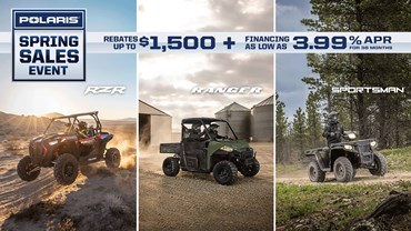 Polaris - Spring Sales Event - Offroad